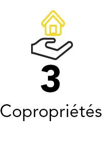 3 copropriétés