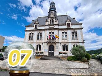 Juillet 2020 : Vidéo protection pour la Mairie de Decazeville